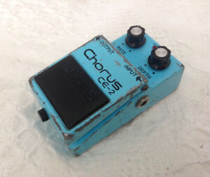 Vintage Boss CE-2 Guitar and Bass Pedal