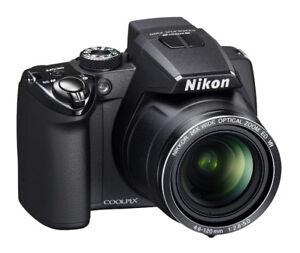 Camera Nikkon Coolpix & Sac Protecteur