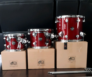 DW Performance series toms                     drums
