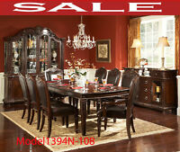 Model 1394N-108, traditional dining set