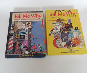 2 Tell Me Why Vintage 1970's Books