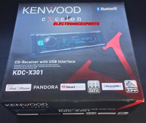 KENWOOD SINGLE DIN AND DOUBLE DIN HEAD UNITS