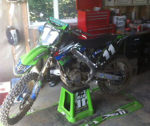 2012 KX250F $4200 MUST SELL