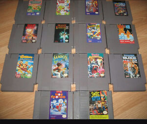 Wanted - old nes games