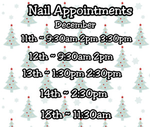 Nail Appointments
