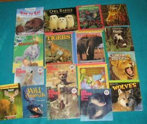 Animal Books  Primary /Jr Sci Frogs, bat, Ant,Loon, Turtle,Toad