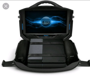 PS4 + TV + Briefcase + Portable + Gaming Monitor