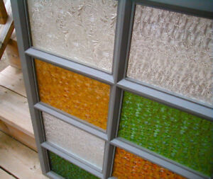 glass - looking for antique colour or patterned window glass