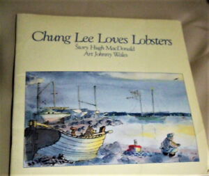 VINTAGE BOOK CHUNG LEE LOVES LOBSTER BY HUGH MACDONALD