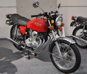 wanted honda cb four cylinder motorcycle