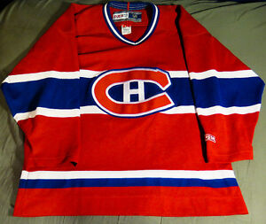 Montreal Canadians CCM Semi-Pro 1990s jersey - Medium Edmonton Edmonton Area image 1