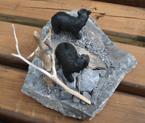 Hand Crafted Bears 3-D Table Sculpture Kingston Kingston Area image 7