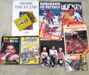 Hockey Books Gretzky Domi Howe Lindros Meeker Robinson Olympic Oakville / Halton Region Toronto (GTA) image 1