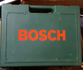 BOSCH Drill with case and battery charger