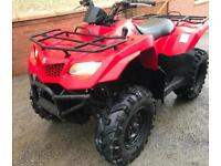 2011 SUZUKI KING QUAD 400 AUTOMATIC 4X4 4WD FARM QUAD BIKE ATV NO VAT