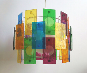 1960s swinging groovy  hanging light