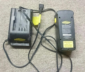 Yardworks 24V Battery and Charger