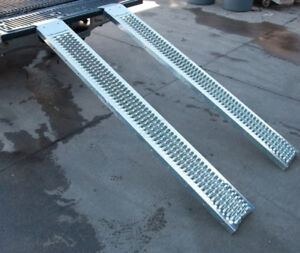 Loading Ramps Set ATV, Motorcycle, Dirt Bike, Go Cart, Lawn Trac