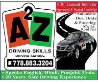"Driving School...........""A 2 Z"" Driving Skills"