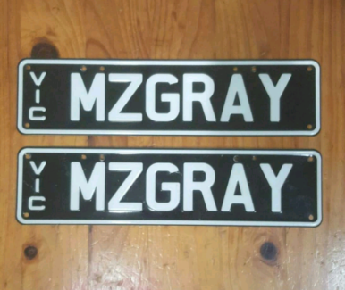 Personalised number plates North Haven Port Adelaide Area Preview