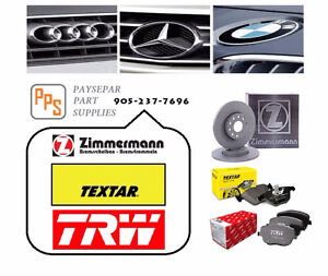 TEXTAR TRW ZIMMERMANN for MB/BMW/AUDI/VW/PORSCHE/JAGUAR/ROVER