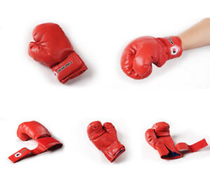 Win Max Red Kids Boxing Gloves New in Packaging