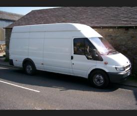 Large van wanted
