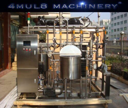 4mul8 Machinery® - Auto Plate Flash Pasteurizer - 1000L / Hour - HTST - FDA 3A