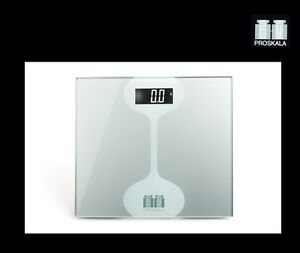 Proskala Sophie 440 LB Digital Tempered Glass Fitness Bathroom Weight Body Scale
