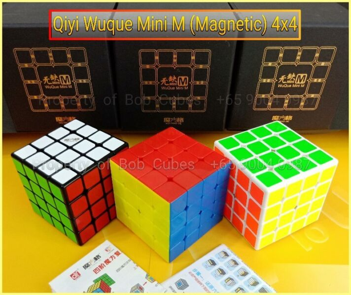 - Qiyi Wuque Mini M (Magnetic) 4x4 for sale in Singapore
