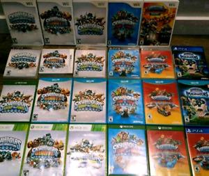 Jeux skylanders pour Wii, Wii u, ps3, ps4,xbox 360,xbox one,3Ds