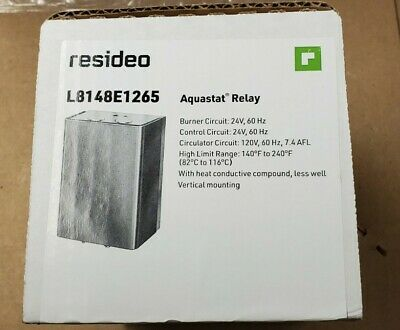 Honeywell L8148e1265 Aquastat High Limit Relay L8148e-brand New In Box