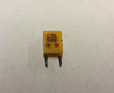 Murata Electronics Resonator Chip CSB500E