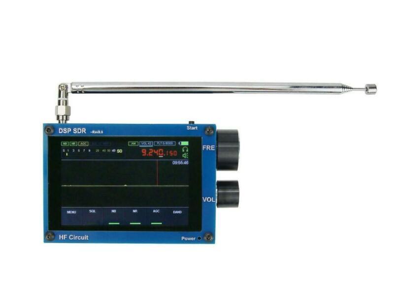 """3.5"""" 50K-2GHz Malachite DSP Malahit SDR Receiver +Upgrade Code+Battery + Speaker"""