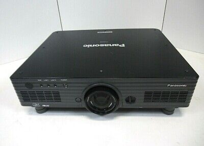 Panasonic PT-DW5100U DLP Projector W/ Lamps Tested Free Shipping