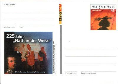 """Deutschland Germany 2004 Pluskarte Wilhelm Tell 225 Jahre """"Nathan der Weise"""""""