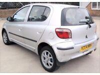 Cheap Insurance Toyota Yaris 1 litre Long Mot 5 Doors Service History 50mpg (MICRA CORSA ASTRA AYGO)