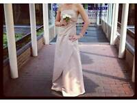 Champagne Size 12 Bridesmaid dress