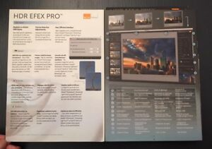 HDR EFex Pro Software