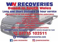 24 Hour Vehicle Recovery available, Long or short distances, Safe, Friendly and Reliable Service
