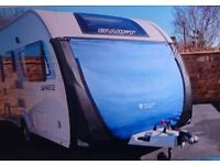 Caravan front tow cover for Affinity 554 or Elddis Sussex Premier Range
