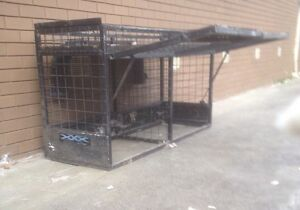 UTE DOG CAGE WITH WATER TANK Reservoir Darebin Area Preview