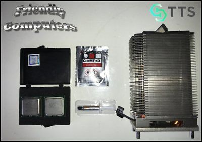 Eight Core 2008 Apple Mac Pro 3,1 X5482 x2 3.2GHz CPUs UPGRADE KIT +Heat Sink, used for sale  Shipping to India