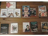 Collection of the gems of British comedy: DVDs and books for sale
