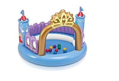 INTEX 48669 Kinder Burg Schloß Toyz Magical Castle Bällebad Zauberschloß
