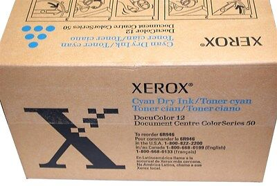 Up To 2 New Genuine Xerox Docucolor 12 Toner Cyan 6r946 4b0x