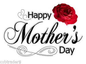 Happy-Mothers-Day-Gift-Card-Insert-Red-Rose-Refrigerator-Magnet