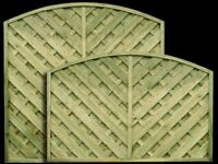 Madrid European 6' x 6' Fence Panel available in other sizes