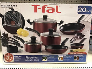 Brand New T-Fal Non-Stick Pots and Pans.