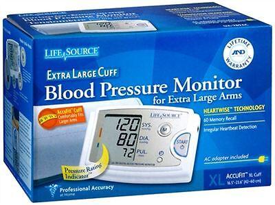 LifeSource Blood Pressure Monitor Extra Large Cuff UA-789AC 1 Each